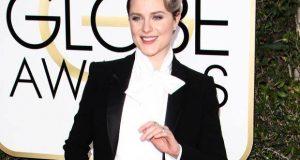 Evan Rachel Wood Slays The Red Carpet In A Pant Suit