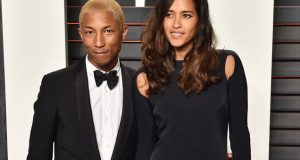 Pharrell And His Wife Helen Lasichanh Are Proud Parents To Triplets