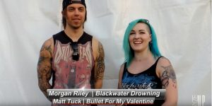 Ryze-Up TV | Backstage Conversations | Carolina Rebellion 2016 | Full Interview with Matt Tuck from Bullet For My Valentine