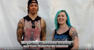 Interview with Matt Tuck from BULLET FOR MY VALENTINE | Carolina Rebellion 2016 | Backstage Conversations | Ryze-Up TV