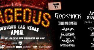 LAS RAGEOUS Flyaway Sweepstakes for New Two-Day Hard Rock Festival in Las Vegas ft. Avenged Sevenfold, Godsmack, Anthrax, Breaking Benjamin & more!