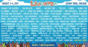 Lollapalooza 2017 Line-up