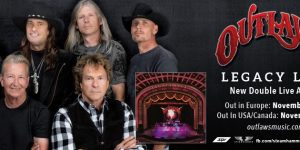 Southern Rock Legends 'OUTLAWS' announce tour dates and Issue Lyric Video From New Album.