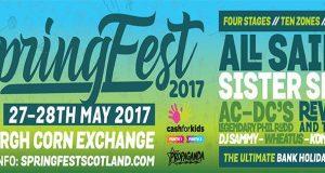 SpringFest 2017 Edinburgh Scotland