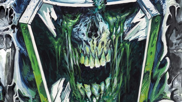 MUNICIPAL WASTE Chat About The Album Artwork For 'Slime And Punishment'