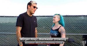 PARKWAY DRIVE, Winston McCall Interview | Carolina Rebellion 2016 | Backstage Conversations