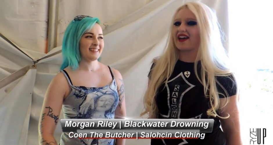 Interview with Coen The Butcher of Salohcin Clothing at Carolina Rebellion 2016 | Backstage Conversations | Ryze-Up TV