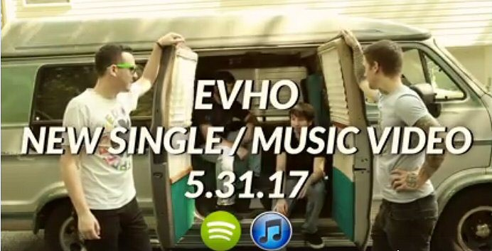 EVHO (EVENT HORIZON): New Single And Video Out On May 31st, Teaser Available!
