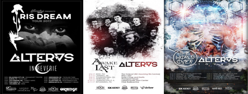Revival Recordings Act ALTERAS Announces Tour with AWAKE AT LAST