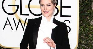 Evan Rachel Wood Slays The Red Carpet In A Pant Suit