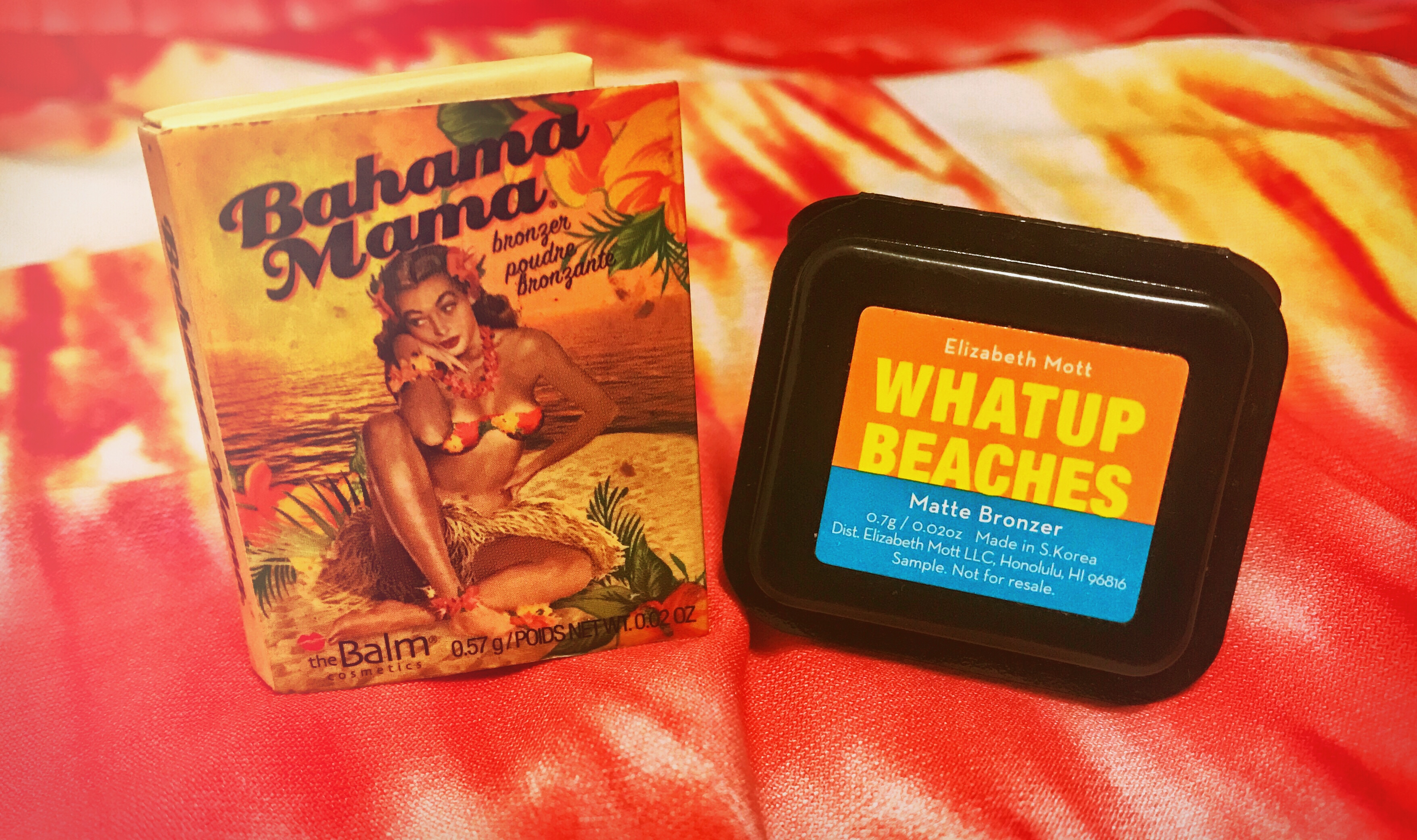 Beauty Products | New Product Comparison: Bronzers – 'BAHAMA MAMA' & 'WHATUP BEACHES'
