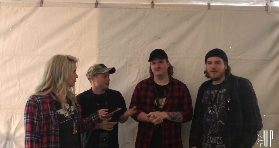 WAGE WAR Talks with Ryze-Up at CAROLINA REBELLION '17 About Their Current Tour, New Album & More!