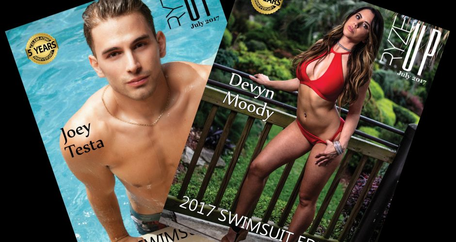 *RYZE-UP 5th Anniversary* The 2017 Ryze-Up Swimsuit Edition + Bonus Male Swimsuit Edition are ONLINE NOW!