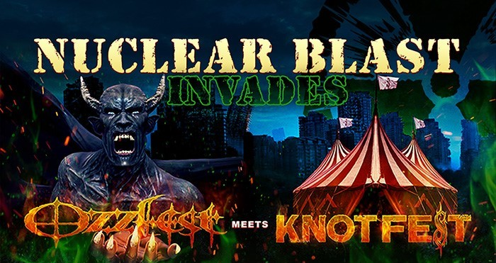 Nuclear Blast To Celebrate 30 Years At OZZFEST Meets KNOTFEST 2017!