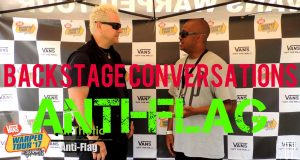 RYZE-UP EXCLUSIVE INTERVIEW: Pat Thetic of ANTI-FLAG at Vans Warped Tour 2017 – Charlotte, NC   Backstage Conversations – Watch!