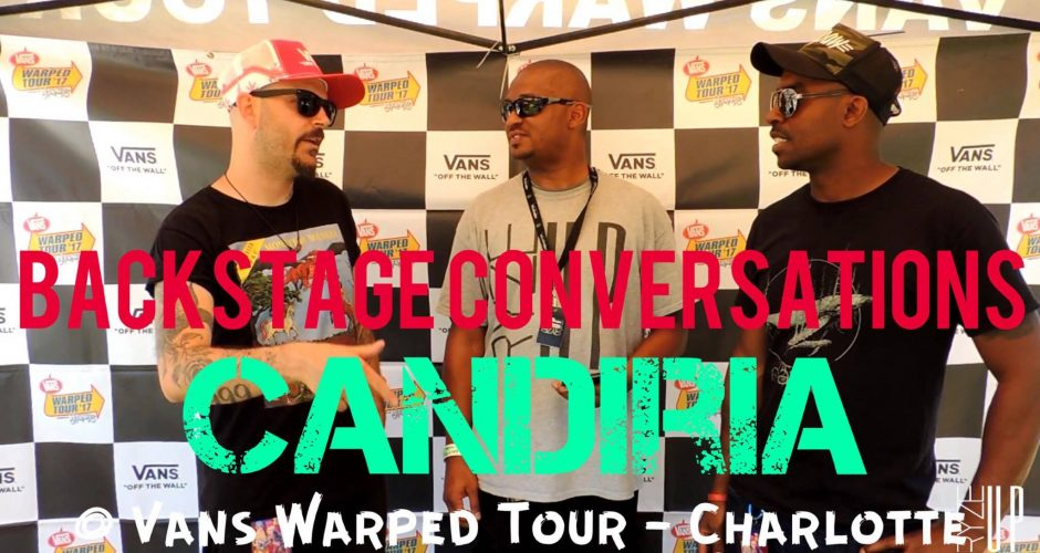 RYZE-UP EXCLUSIVE INTERVIEW: Carley Coma & John Lamacchia of CANDIRIA Speak with Ryze-Up at Vans Warped Tour 2017 | Backstage Conversations