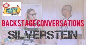 RYZE-UP EXCLUSIVE INTERVIEW: Paul Marc Rousseau of SILVERSTEIN at Vans Warped Tour 2017, Charlotte, NC | Backstage Conversations – Watch!