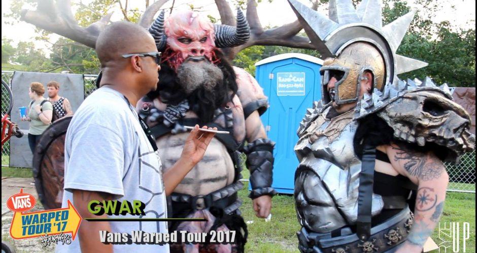 BACKSTAGE CONVERSATIONS | GWAR at Vans Warped Tour 2017, Charlotte, NC – Watch
