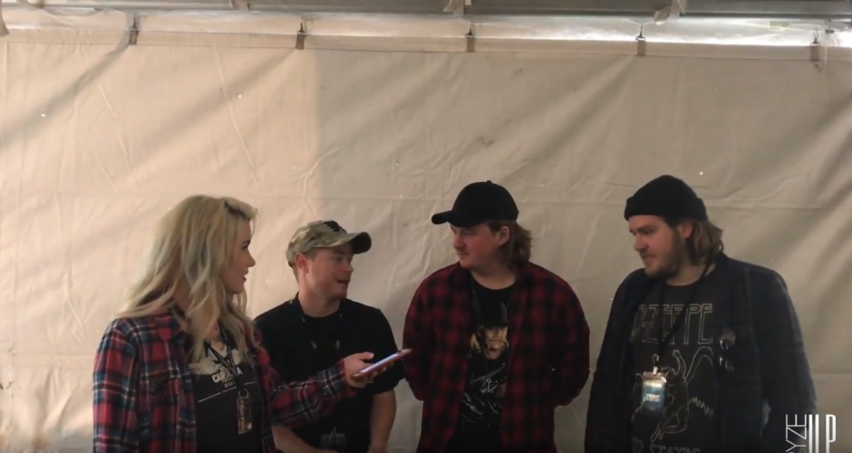Countdown to Music Festival Season – A Backstage Interview With WAGE WAR at Carolina Rebellion '17 – Watch