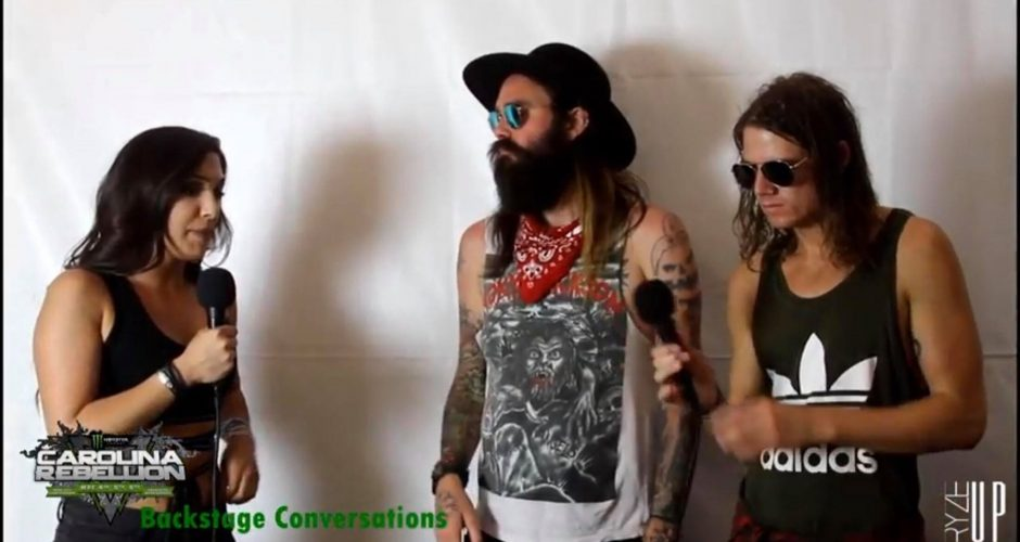INTERVIEW | Carolina Rebellion 2018 – Backstage Conversations with Schuylar & Jesse of HE IS LEGEND