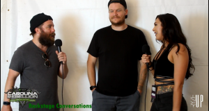 Carolina Rebellion 2018 | Backstage Conversations Interview with Tim & Chris of UNDEROATH