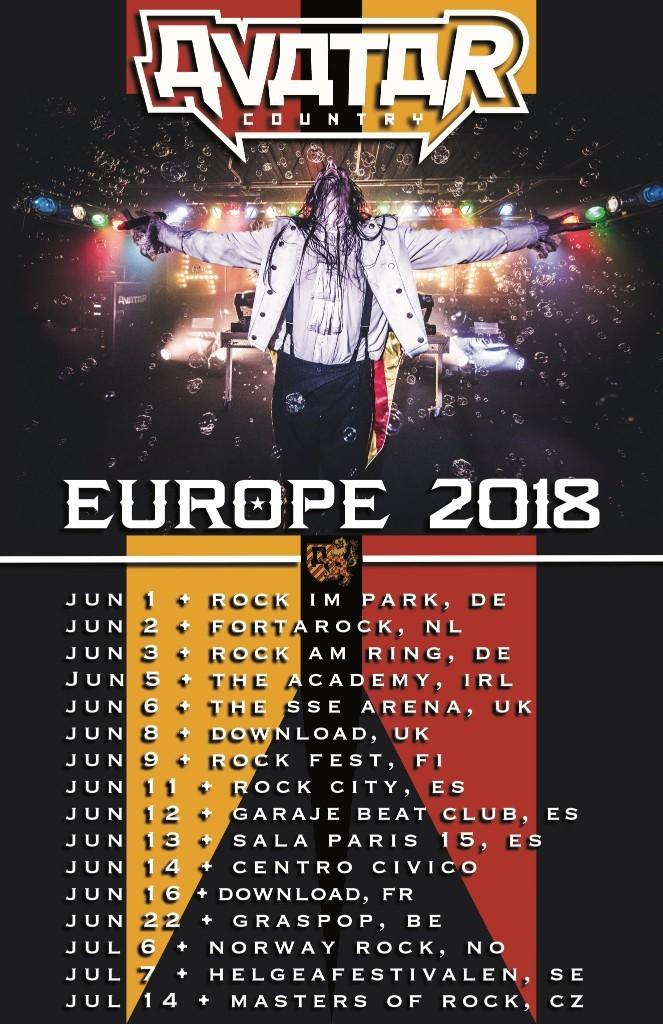 Avatar-Europe-tour