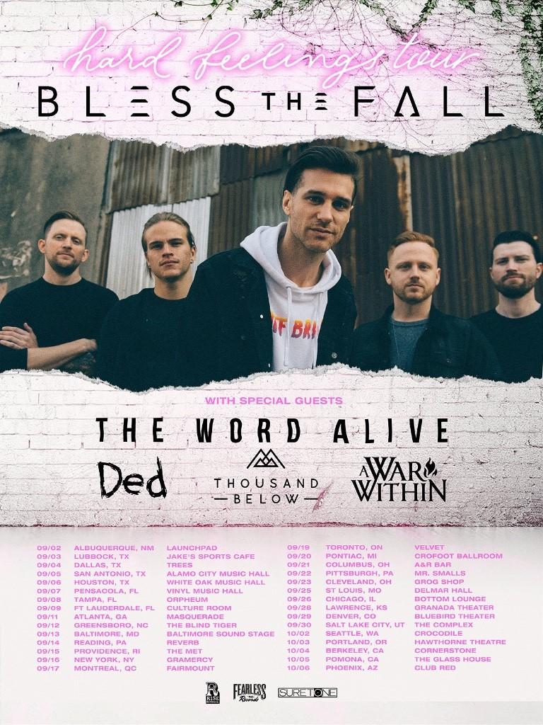 Blessthefall-tour