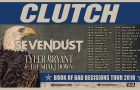 CLUTCH Announce BOOK OF BAD DECISIONS Tour Dates With SEVENDUST And TYLER BRYANT & THE SHAKEDOWN