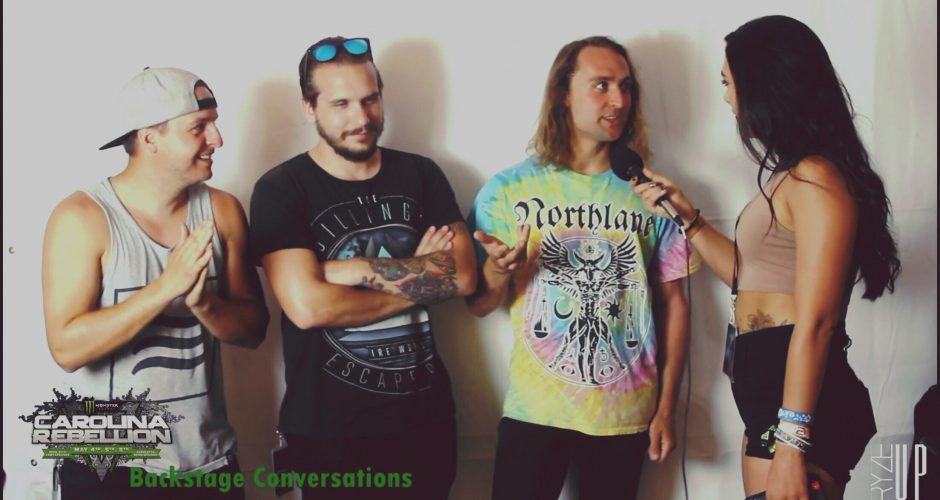 VIDEO | INTERVIEW  with TOOTHGRINDER at Carolina Rebellion 2018 – Backstage Conversations