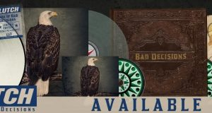 """CLUTCH NEW ALBUM """"BOOK OF BAD DECISIONS""""  OUT TODAY!"""