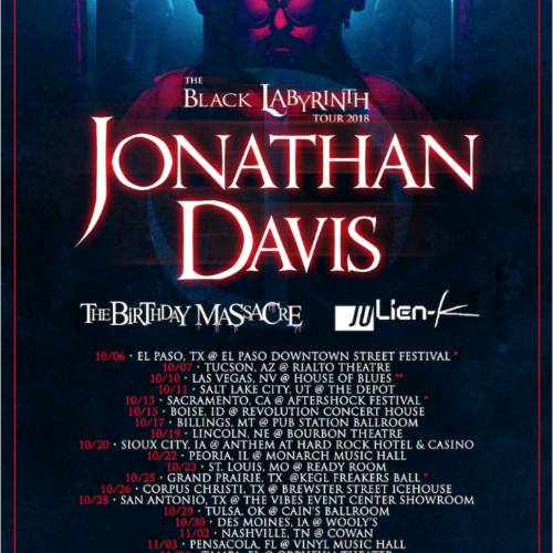 Jonathan Davis Releases Video For Latest Single 'Basic Needs