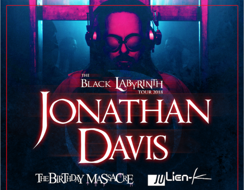 Jonathan Davis 'The Black Labyrinth' Tour To Kick Off This Weekend