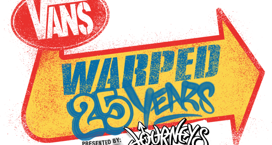 The Vans Warped Tour® Prepares For A 25th Anniversary Celebration – Dates Announced!