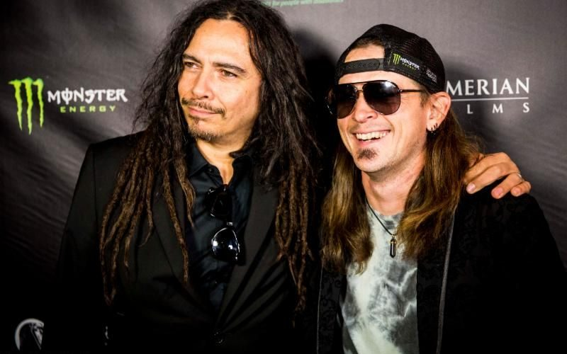 Rock Stars Hit Red Carpet For 'Mind Over Matter' Premiere In Beverly Hills