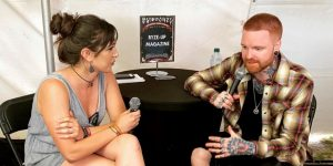 VIDEO | Interview with Matty Mullins of Memphis May Fire at Epicenter Festival 2019